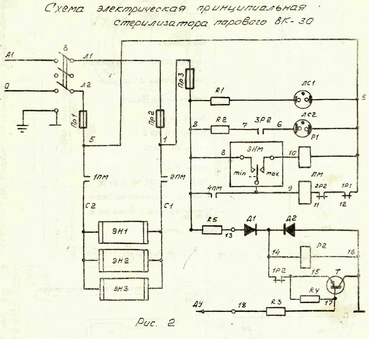 Магнитный пускатель пме схема подключения