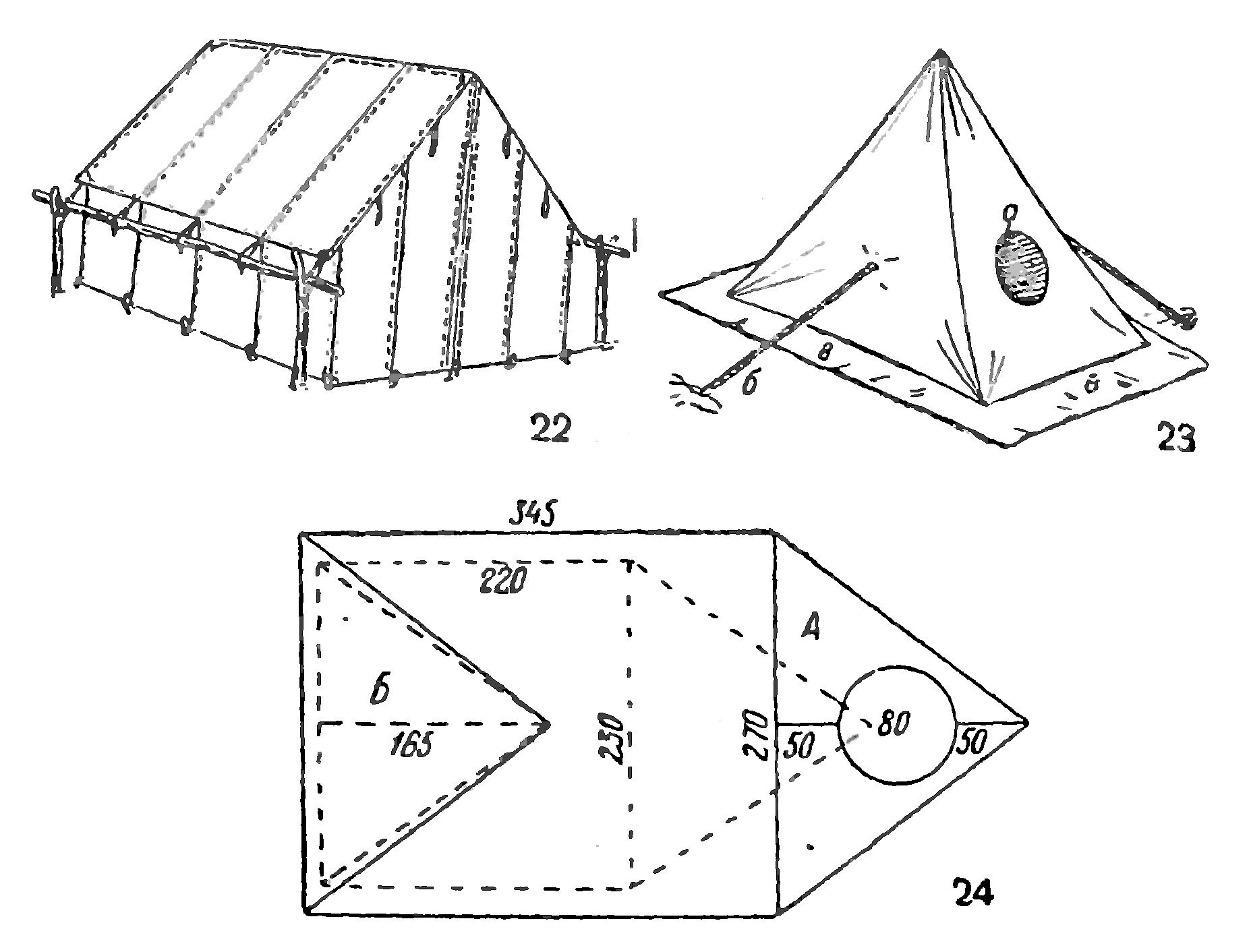 Пошить палатку своими руками 9