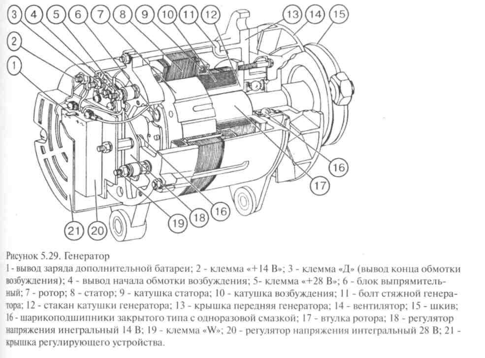 Схема датчика включения вентилятора с реле