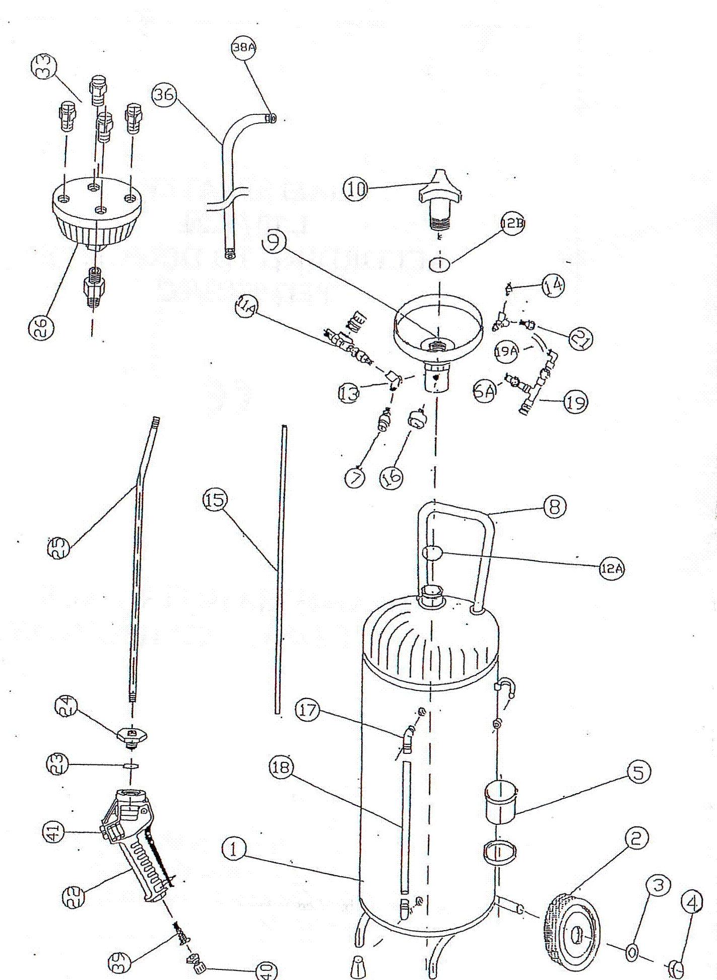 Пеногенератор для мойки своими руками чертеж 25