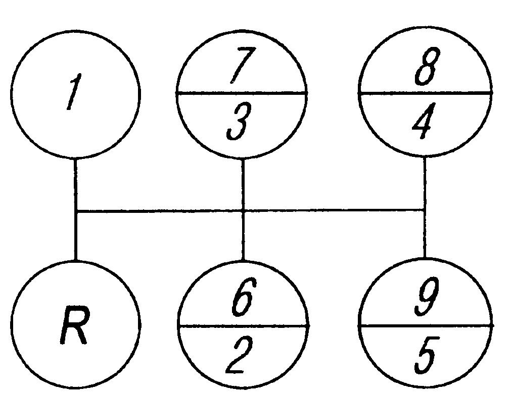 Схема переключения передач на урале с двигателем ямз